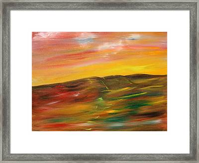 A Glimpse Framed Print by James Bryron Love