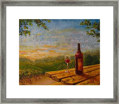 A Good Year Framed Print by Jane Mick