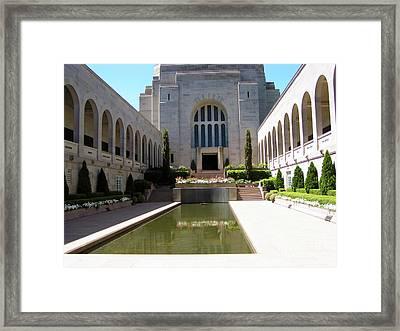 A Grand Entrance Framed Print by Joanne Kocwin