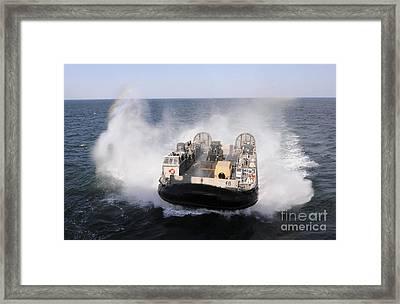 A Landing Craft Utility From Assault Framed Print by Stocktrek Images