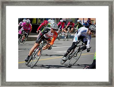 A Little To The Left Framed Print by Vicki Pelham