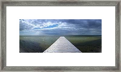 A Long Walk - Kattegat Framed Print by Jan Faul