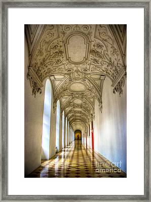 A Long Way Framed Print by Syed Aqueel