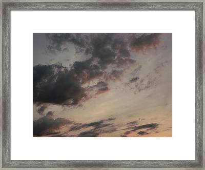 A Mellow Sunset Framed Print by Brian  Maloney