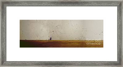 A Memory Of The Coast Framed Print by Andy  Mercer