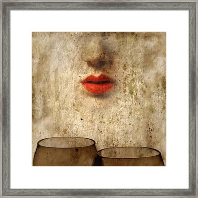 A Memory Of Two Framed Print by Mostafa Moftah