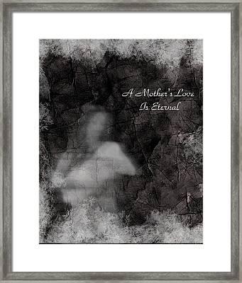 A Mother's Love Framed Print by Rhonda Barrett