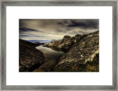 A Mystical Pond Framed Print by Evan Spellman