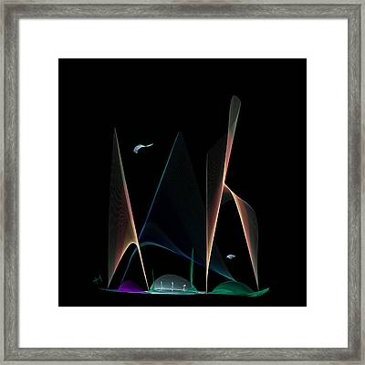 A New World Framed Print by Hayrettin Karaerkek