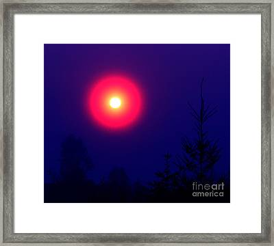 A New World Framed Print by Rory Sagner