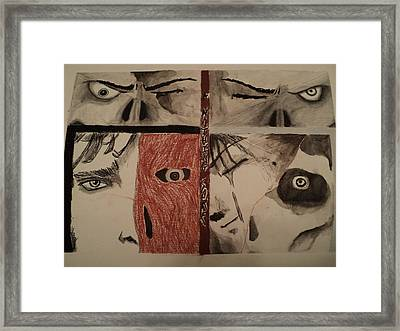 A Nothing Sore Framed Print by Eric Humphries