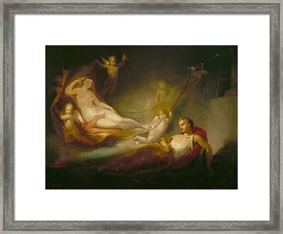 A Painter's Dream Framed Print by Thomas Buchanan Read