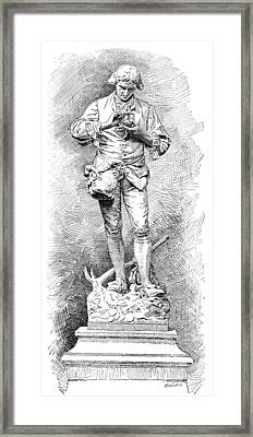 A. Parmentier, French Food Scientist Framed Print by