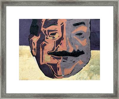 A Peeling Personality Framed Print by Randall Weidner