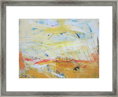 A Perfect Day Framed Print by Francine Ethier