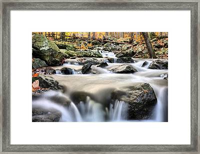 A Rocky Road Framed Print by JC Findley