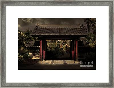 A Samurai.s Menagerie . Golden Cut . 7d12779 Framed Print by Wingsdomain Art and Photography