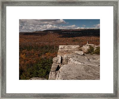 A Sense Of Scale Framed Print by Jim DeLillo
