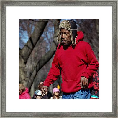 A Skater In Central Park - 2 Framed Print by RicardMN Photography