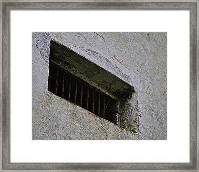 A Small Opening Framed Print by Odd Jeppesen