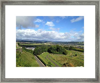 A Stirling View Framed Print by Michael McKenzie