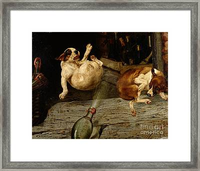 A Surprising Result Framed Print by William Henry Hamilton Trood
