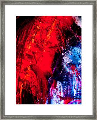A Tare In The Force Framed Print by Allen n Lehman
