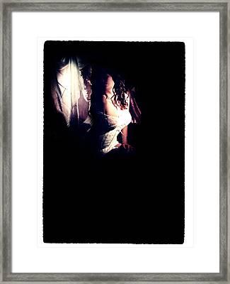 A Taste Of Film Noir Fetish Framed Print by Lon Casler Bixby