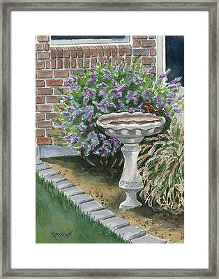 A Touch Of Spring Framed Print by Marsha Elliott