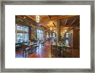 A Traditionally Furnished And Decorated Framed Print by Rob Tilley