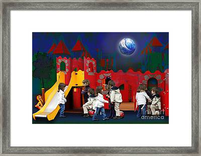 A Tree Acts Alliance Framed Print by Rosa Cobos