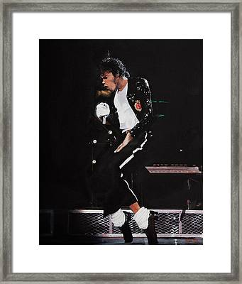 A Troubled Genius Framed Print by Mike  Haslam