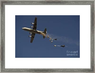 A U. S. Air Force C-130 Hercules Framed Print by Stocktrek Images