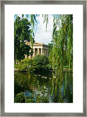 A View Of The Parthenon 15 Framed Print by Douglas Barnett