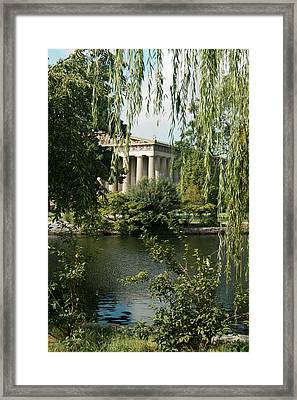 A View Of The Parthenon 6 Framed Print by Douglas Barnett