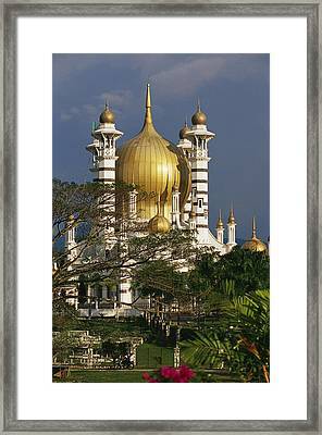 A View Of The Ubudiah Mosque Framed Print by Steve Raymer