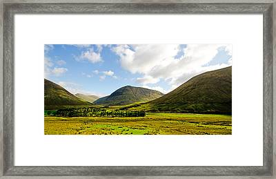 A View Over Rannoch Moor Framed Print by Chris Thaxter