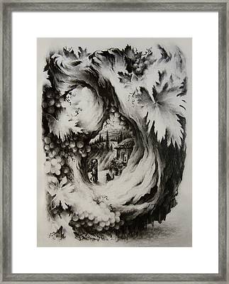 A Vintage Romance Framed Print by Rachel Christine Nowicki