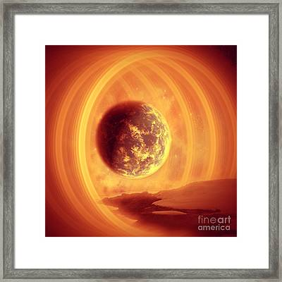 A Whole New World Framed Print by Ester  Rogers