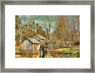 A Winters Day  Framed Print by Darren Fisher
