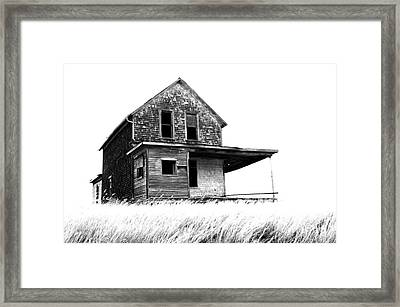 Abandoned And Alone 2 Framed Print by Bob Christopher