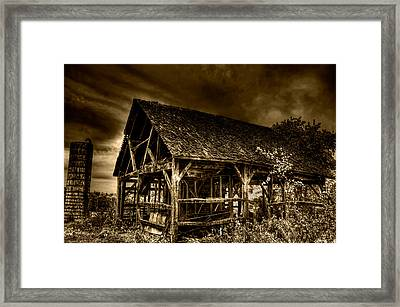Abandoned And Forgotten Framed Print by Rylan Beer