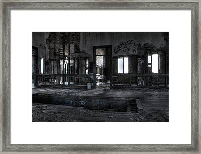 Abandoned Framed Print by Andrew Pacheco