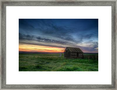 Abandoned Beauty Framed Print by Thomas Zimmerman