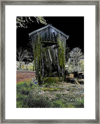 Abandoned Framed Print by Cindy Roesinger