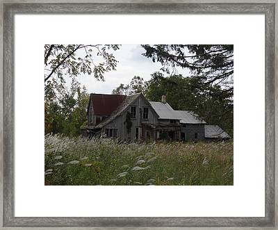 Abandoned Farmhouse 1 Framed Print by Bruce Ritchie