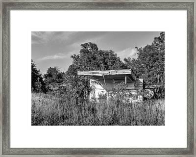 Abandoned Framed Print by Lynn Palmer