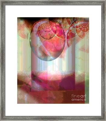 Abandoned Rose - Not Seperate From Illusion Framed Print by Fania Simon