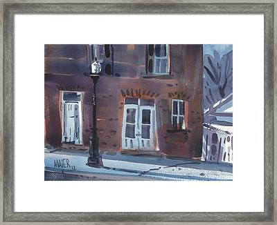Abandoned Two Framed Print by Donald Maier