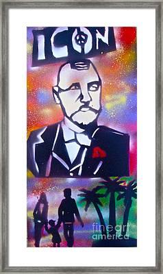 Abbott Kinney Framed Print by Tony B Conscious